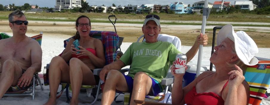 Mimi, John, DS and KS Sept