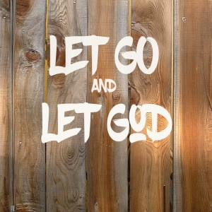 let go and let God copy