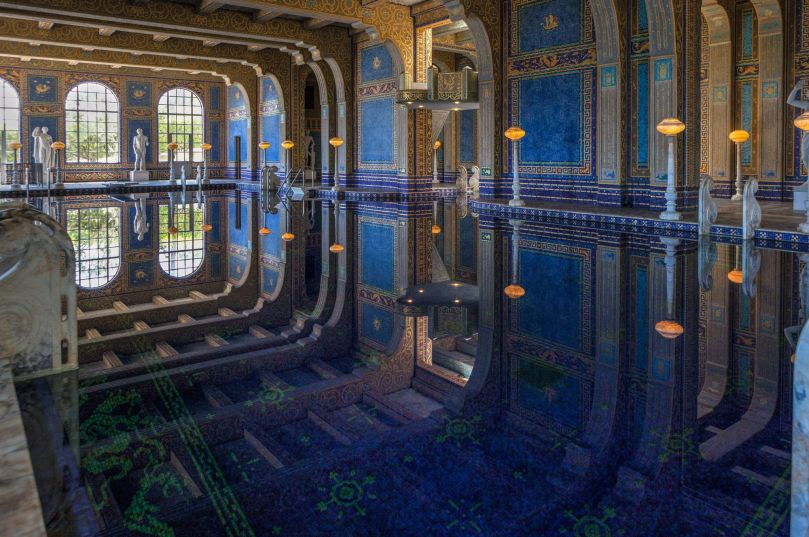 Hearst Castle - Roman Indoor Pool