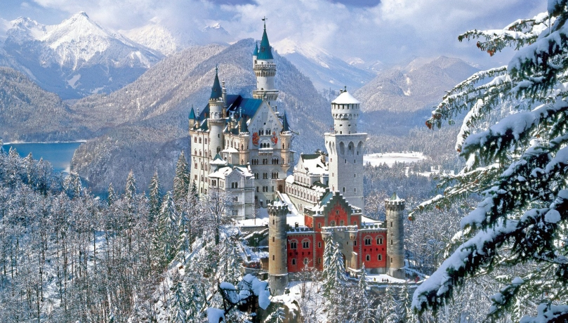 Neuschwanstein01 winter