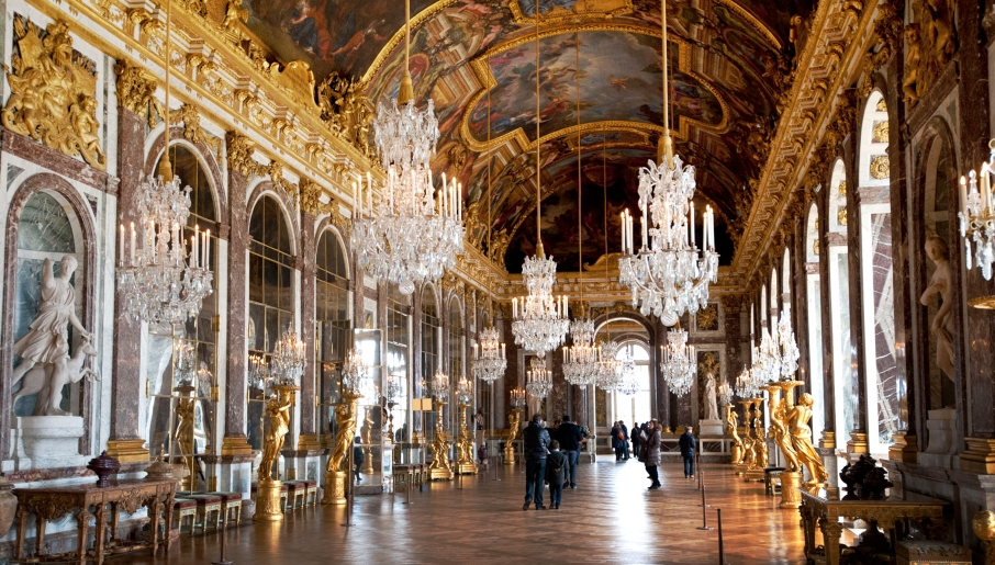 Versailles Hall of mirrors wide