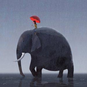 elephant_rider_by_gorosart-d7azk1i