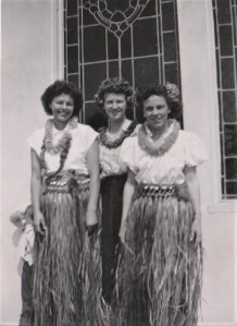 Florence Neal (center) South L.A. Sunday school celebration 1951