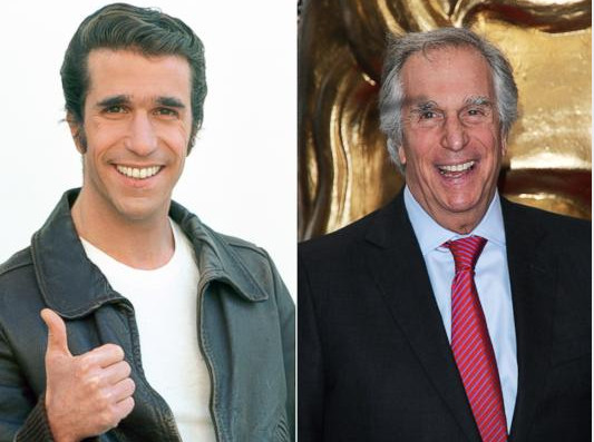 Henry Winkler before and after