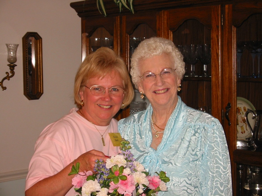 Karon and Mom April 27, 2002