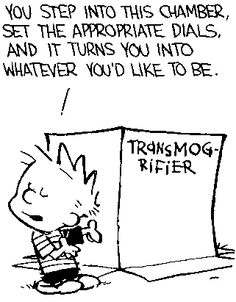 Calvin-and hobbes--transmogrifing machine