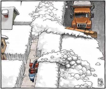 the curse of the snowplow